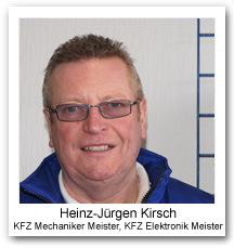 Hans-Jürgen Kirsch, KFZ Meister