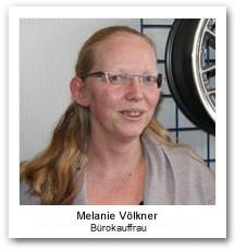 Melanie Völkner Bürokauffrau