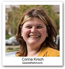 Corina Kirsch, Geschäftsführerin